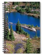 Lila Lake Spiral Notebook