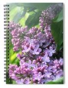 Lilacs On A Misty Morning Spiral Notebook
