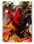 Love Escape Spiral Notebook