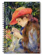 Marie Therese Durand Ruel Sewing Spiral Notebook