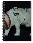 Maurice The Space Cow Boy Spiral Notebook