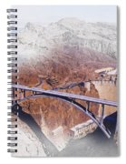 Mike O'callaghan Pat Tillman Memorial Bridge Spiral Notebook