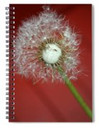 Nature Red Spiral Notebook