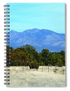 New Mexico Mountains Spiral Notebook