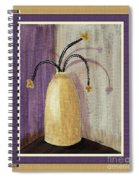 Octillo Branches In An Urn Spiral Notebook
