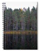 Pitkajarvi 3 Spiral Notebook
