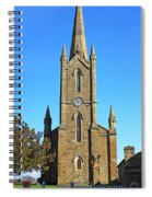Pointed Church Spiral Notebook