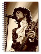 Prince The Artist Spiral Notebook