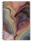Psychedelic Heart Spiral Notebook