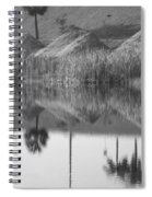 Pyrimids By The Lakeside Cache Spiral Notebook