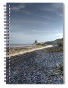 Reculver From Bishopstone Beach Spiral Notebook