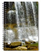 Rock Glen Falls Iphone 6s Spiral Notebook