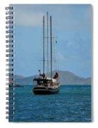 Sailing Virgin Islands Spiral Notebook