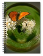 Scarce Copper 3 Spiral Notebook