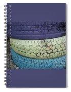 Seventies Tires Spiral Notebook