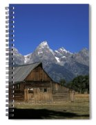 South Moulton Barn Grand Tetons Spiral Notebook