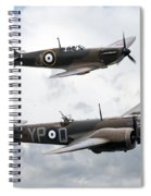Spitfire And Blenheim Spiral Notebook