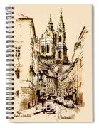 St. Nicholas Church In Prague Spiral Notebook