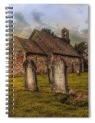 St Oswald At Sundown Spiral Notebook