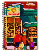 St. Viateur Bagel Family Bakery Spiral Notebook