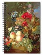 Still Life With Auriculus  Spiral Notebook