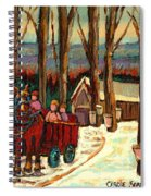 Sugar Shack Spiral Notebook