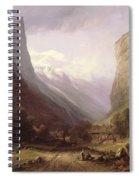 Swiss Scene Spiral Notebook