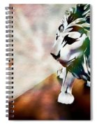 The Boy And The Lion 2 Spiral Notebook