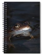 The Common Frog 1 Spiral Notebook