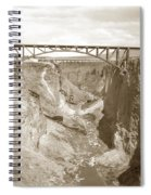 The Crooked River High Bridge Is A Steel Arch Bridge That Spans Oregon Built In 1926  Circa 1929 Spiral Notebook