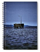 The Dock Of Loneliness Spiral Notebook