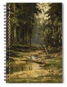 The Forest Brook Spiral Notebook