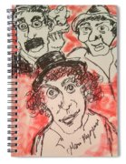 The Marx Brothers Spiral Notebook