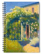 The Studio At Alet-les-bains Spiral Notebook