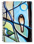 Three Birds Spiral Notebook