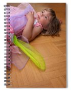 Tired Angel Spiral Notebook