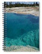 Turquoise Hot Springs Yellowstone Spiral Notebook