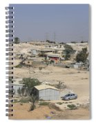 Unrecognized, Beduin Shanty Township  Spiral Notebook