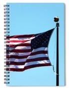 Usa Flag Spiral Notebook