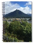 View From Top Of Castle Hill Sitka Alaska 2015 Spiral Notebook