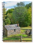 Village Blacksmith Shop Spiral Notebook