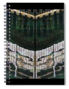 Water Reflection Twofold Spiral Notebook