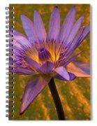 Waterlily Spiral Notebook