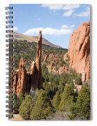 West Garden Of The Gods Spiral Notebook