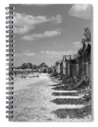 Whitstable Huts Spiral Notebook