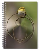 Wood Warbler Spiral Notebook
