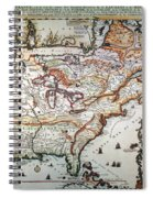New France, 1719 Spiral Notebook