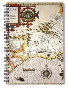 Map: Colonial America, Spiral Notebook