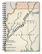 Natchez Trace, 1816 Spiral Notebook