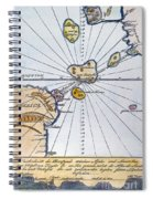 Traces Of Atlantis Spiral Notebook